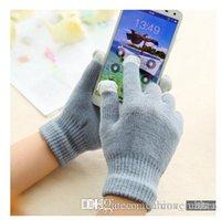Wholesale Women Microfiber Gloves Red Black Green Yellow Grey Gloves Shop Designs Gloves Store