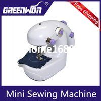 Wholesale Portable in Batteries Operated Mini Sewing Machine Stitching Control