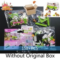 Wholesale NEW Sluban B0523 wagon set Girl villa building blocks of Cinderella s castle mini figurines Toys Compatible With