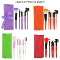 accessory kit brown - Professional Makeup Brushes Toiletry Make up tool Kits mc Wool Brand brush for face accessories Case Cosmetics Set D013