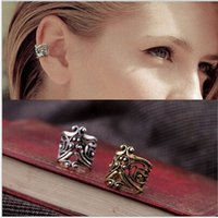 Wholesale Wholesales Fashion Hollow Type U Clamp Type Retro Ear Cuff Alloy Clip Earring