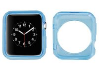 Wholesale 2015 TPU Case For Apple Watch Case Crystal Clear TPU Silicone Soft Cover For Apple Watch mm mm iwatch