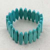 beaded jewelry manufacturers - Factory F0435 Europe hand jewelry Bohemia folk style bracelet Turquoise bracelets manufacturers selling fashion personality Hot