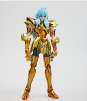 aphrodite myth - in stock S Temple metal club Pisces Aphrodite glod Myth Cloth Ex action figure Saint Seiya model toy metal armor