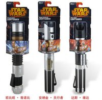 Wholesale Retail FS Anime Star Wars Light Saber Red Telescopic Lightsaber Cosplay Hot Toys
