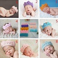 Cheap baby crown hat Best newborn baby