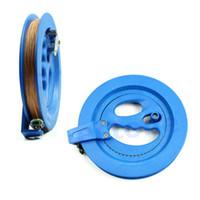 Wholesale 7Inch Grip Wheel Kite Reel Winder Ballbearing Handle Lockable M String Line order lt no track
