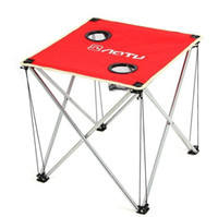 beach coffee tables - Ultraportability Thickened Outdoor Coffee Table Folding Table D Oxford Cloth Camping Picnic Travel BBQ Beach Portable Foldable Desk