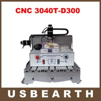 Wholesale CNC Router T D300 milling Lathe machine with W DC power spindle motor upgraded from CNC engraver