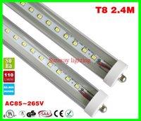 fluorescent bulbs - 8 feet led ft single pin t8 FA8 Single Pin LED Tube Lights W Lm Bulbs MM feet LED Fluorescent Tube Lamps V