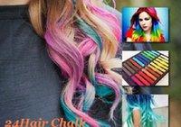 Wholesale 100pcs Colors set Chalk Hair Temporary Chalk Hair Color Dye Pastel Chalk Bug Rub