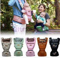 Wholesale 50PCS LJJH1097 baby Carrier colors baby straps multi function Baby s Backpack removable straps holding baby waist stool Babies Hip Seat