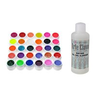 arte mix - Best Price Arte Clavo Pearl Colors Gel and Cleanser Plus Nail Art Mix Nail Polish UV Gel