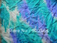 batik fabrics - wax printed Batik silk georgette Customize your design fabric yards MOQ j0130
