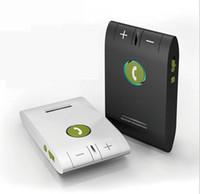 Wholesale Car Kit Bluetooth Speakerphone E Handsfree Multifuctional Wireless Music Multipoint Auto Speaker Phone Hands Free