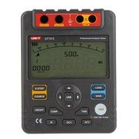 Wholesale UNI T UT513 Insulation Resistance Testers Meter Megohmmeter Voltmeter Auto Range V w USB Interface New Arrival order lt no track