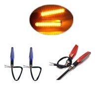 Wholesale Kimisohand Universal Motorcycle Motorbike V LED Turn Signal Light Amber