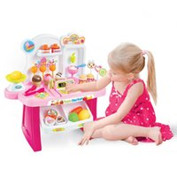 Wholesale Diy Kids Grocery Food Icecream and Candy Store Supermarket Shopping Toy Pretend Play Toy