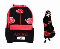 Cheap Anime backpack Best Naruto Akatsuki bag