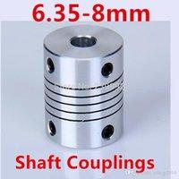 Wholesale Stepper Motor Flexible Coupling X8mm shaft coupler mm x8 cnc parts