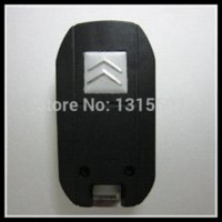 Wholesale for Citroen modified flip folding key shell button without Groove blade car