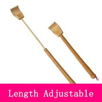 bamboo scratcher - Bamboo stick back scratcher length adjustable extendable help yourself whenever itching do scratching by selves
