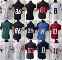 blank football jerseys - blank Elite Football Jerseys Best quality Authentic Jersey Embroidery Logo Size M XL Can Mix Order