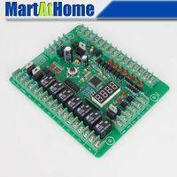 Cheap Wholesale-Free Shipping Programmable Logic Controller PLC Module PWM Stepper Motor Driver Relay Board #SM536 @CF