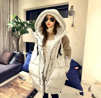 Wholesale 2016 New Casaco Feminino Winter Coats Women Plus Size Long Thickening Warm Down Parka Hooded Jacket Women Outerwear Down Jacket OXL15091403