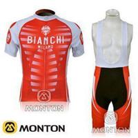 Wholesale new arrival red cycling jersey Team Bike Jerseys bib shorts BIANCHI cycling team jersey short Bib Pants canadian cycling jersey C00S