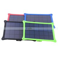 Wholesale 4W USB Solar Battery Panel Charger Monocrystalline Silicone Solar Charger Panel for Phone MP3 MP4