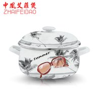 Wholesale Yeah wind in Phoenix Effie pot stew pot soup pot Rhine porcelain enamel pot customized health