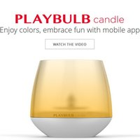 Wholesale MIPOW PLAYBULB Smart LED Flameless Candle Night Light Wedding Party Decoration Gift Decor Free APP Mobile Control Change Color