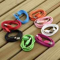 Wholesale Micro USB connection port Male A to Data Charger Cable in cable for Android MID Amazon Kindle fire Green Hot New Arrival