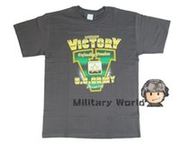 Wholesale Airsoft U S Army Short Sleeve T shirt Outdoor Sports Hunting Mens Wicking Quick Drying Short Sleeve T Shirts