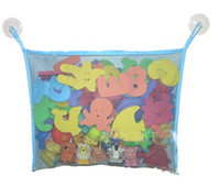 Wholesale Baby bath hanging bags Bathroom receive sundry receive foreign trade products toy bags color of white