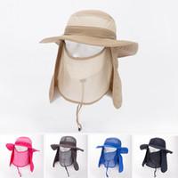 fishing hat - 2015 New Men Women Sun Hats Sunshade Quick Dry UV Protection Fishing Bucket Hats Caps Outdoor Hiking Cycling Camping Hats YH0145 salebags