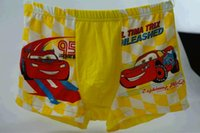 toy story clothing - toy story cars kids underwear kids Christmas gift yellow cotton Children s Briefs Boxers Baby Kids Clothing