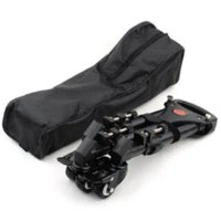 alloy wheel base - Hot YT Pro Wheels Pulley Universal Folding Camera Tripod Dolly Base Stand With Carrying Bag
