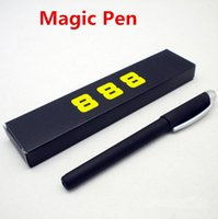 Wholesale Creative Magic Pen Automatic Disappearing Pen With Invisible Ink Temporary Fade Pen Novelty Funny Toys
