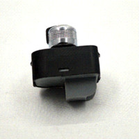 auto parts mirrors - New auto part Chrome adjust knob side mirror switch without floding for Audi A4 S4 B6 A6 Quattro Q7 RS4 F0