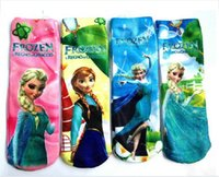 disney wholesale - Disney cartoon children socks socks boat socks Frozen frozen stockings