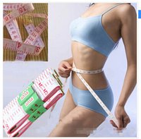 Wholesale Soft Tape Measures Sewing Tailor Body Scale M Fitness Caliper Measuring Body Plastic Soft Feet Ruler Gauging Tools