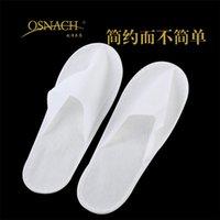 500pairs DHL zapatillas gratuitas de un solo uso desechables para zapatos en casa de los deslizadores de las sandalias blancas zapatillas de viajes del hotel babouche más tamaño y barato zapatillas