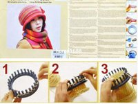 Wholesale Sock Scarf Hat Kit Knitter Knitting Round Looms High Quality Ring Set