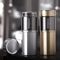 Wholesale Ceramic Thermos CupThermo Mug Stainless Steel Thermos Mug insulated coffee Thermo bottle For Tea Vacuum Flask Cup Male Gift