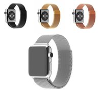 Wholesale Stainless Steel Strap for Apple Watch Watchband Milanese Loop Band Link Bracelet mm mm