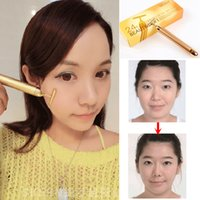 beauty bar sale - Hot Sales T Type Gold Beauty Bar Effective Face Lift Facial Massager Facial Face Lift Stimulator Relaxation Wrinkle Anti Wrinkle