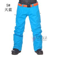 Wholesale NEW burton high Q Fabric women s Snowboard pants colors ski trousers Waterproof and Windproof Breathable Original