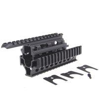 Wholesale Funpowerland High quality Black Color AK Handguard RIS Quad Rail System